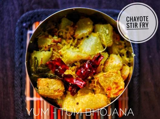 Chayote - Stir Fry