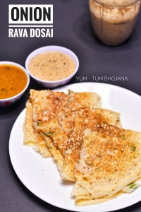 Onion Rava dosa_closeup