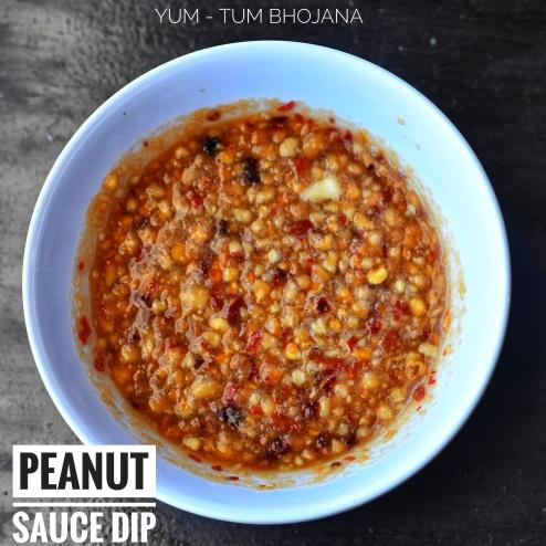 Peanut Sauce Dip