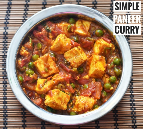 Paneer Curry Simple