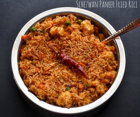 Schezwan Paneer Fried Rice