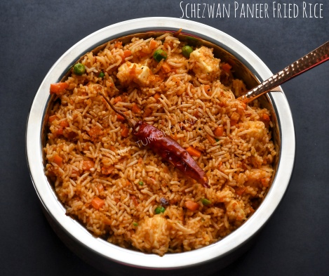 Schezwan Paneer Fried Rice