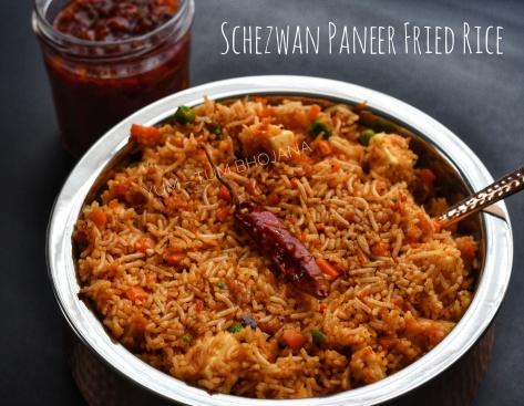 Schezwan Paneer Fried Rice1