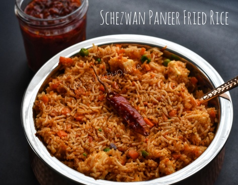 Schezwan Paneer Fried Rice1