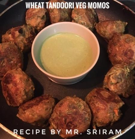 Tandoori Veg Momo